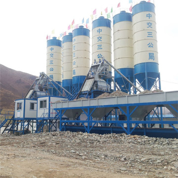 low operating cost concrete batching plant
