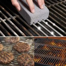 BBQ Grill Cleaning Brick Block Barbecue Cleaning Stone BBQ Racks Stains Grease Cleaner BBQ Tools Kitchen Decorating Gadgets New