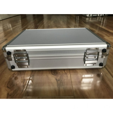 Aluminium Alloy Box with Net Bag on Lip