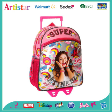 DISNEY SOY LUNA SMILE trolley bag