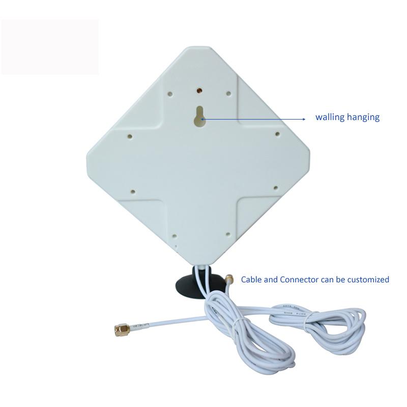 Hot Sale Window Sucker 30-35dBi External Wirless Router Lte 4G Mimo WiFi Antenna for Communication