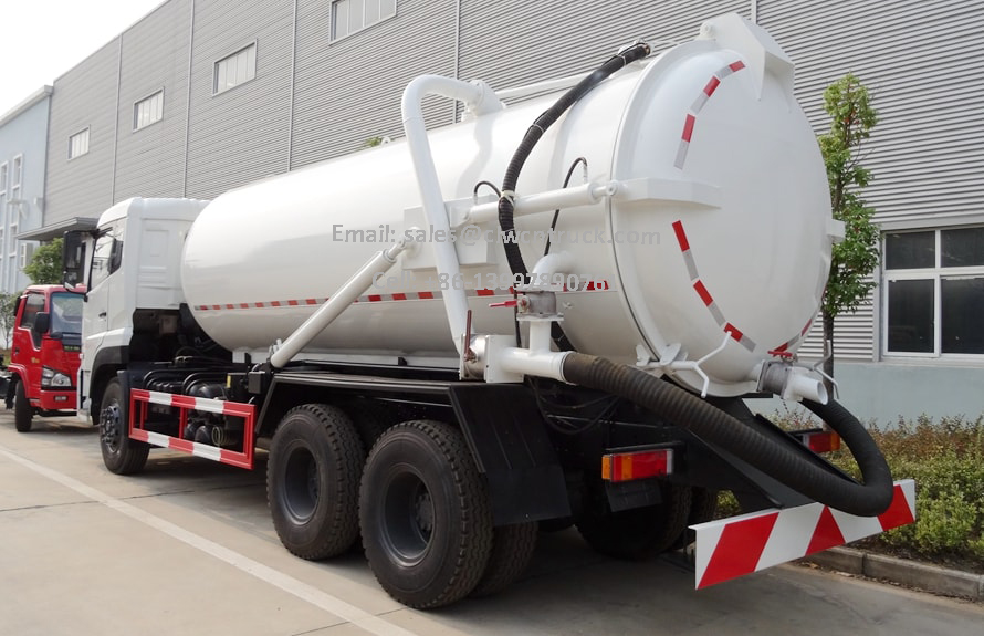 Wasted Water Suction Truck Cost