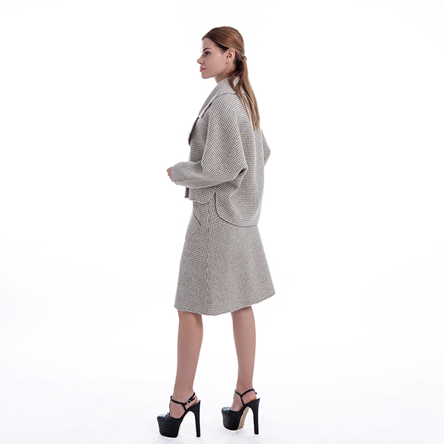 Fashion cashmere dress