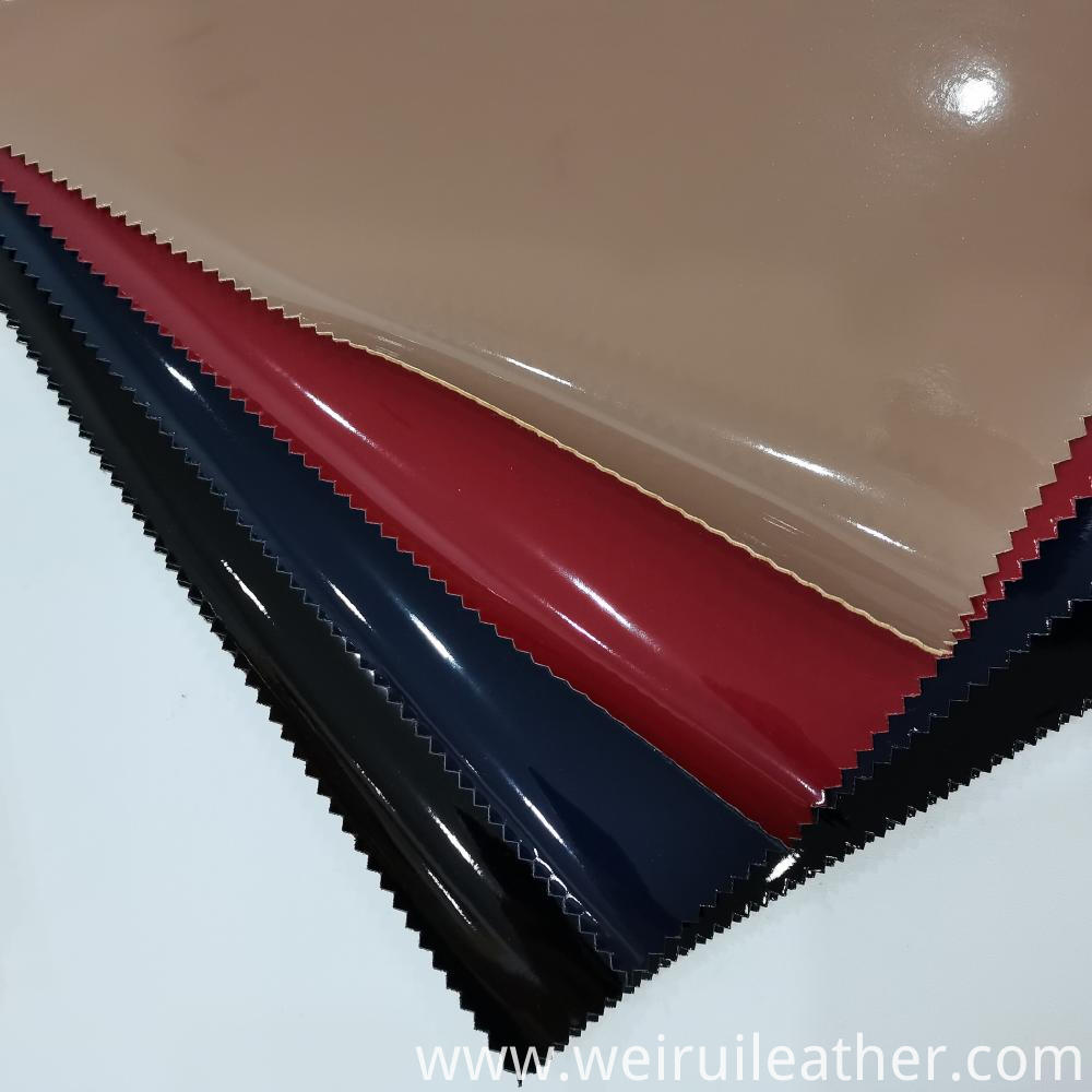 Mirror Pu Leather