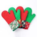 Christmas Silicone and Cotton Gloves