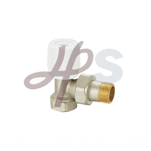 Brass Radiator Valves And Nickel Plated Hvr02
