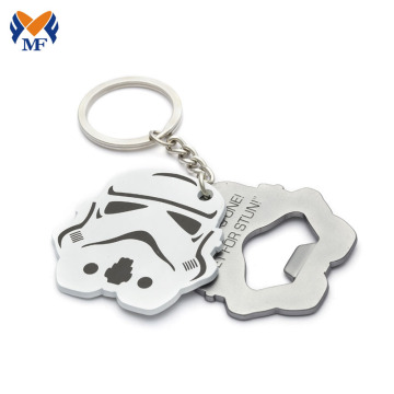Custom Personalized Cool Bottle Opener Keychain