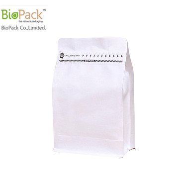 Multi-color custom printed flap coffee bean packaging bag