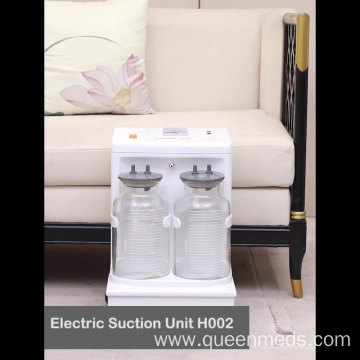 mobile electric suction machine medical vacuum aspirator