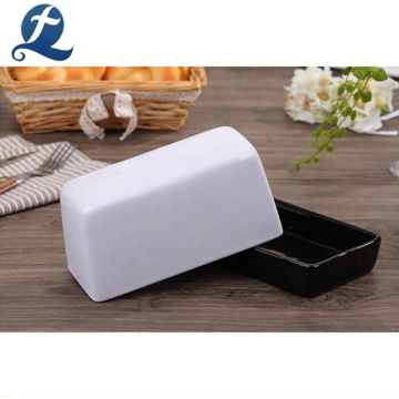 New product rectangle cooking ceramic butter dish