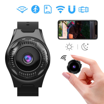 Waterproof WIFI Sports Magnetic Mini Watch Camera 1080P HD Small Wearable Action Cam Portable Mulitifunction Video Recorder DVR