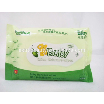 Organic Natural Baby Olive Skin Care Wipes