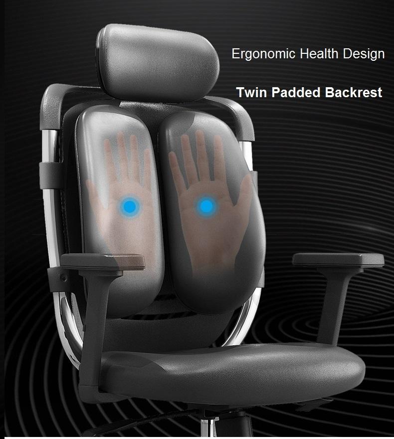 Health Design for Twin Padded Backrest