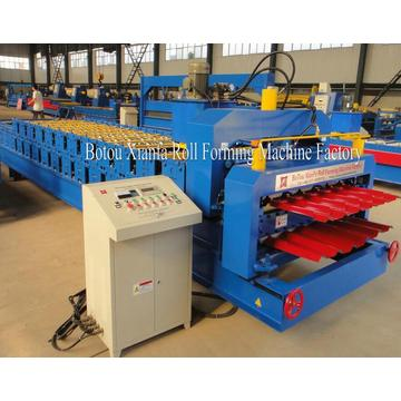 Ibr Glazed Double Layer Roll Forming Machine