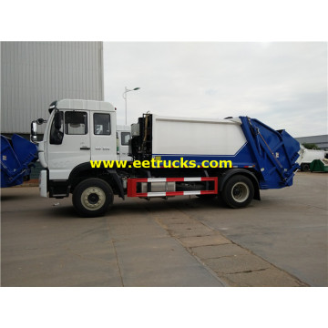 SINOTRUK 10ton Compress Waste Trucks