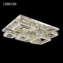 Modern led crystal hanging ceiling lights