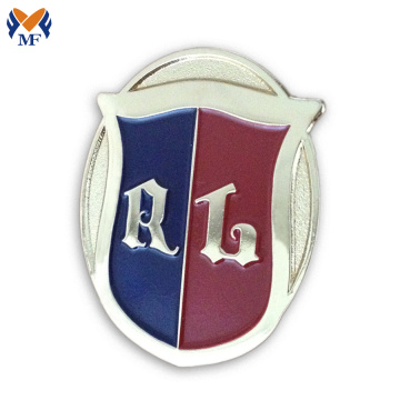 Military custom pin badge