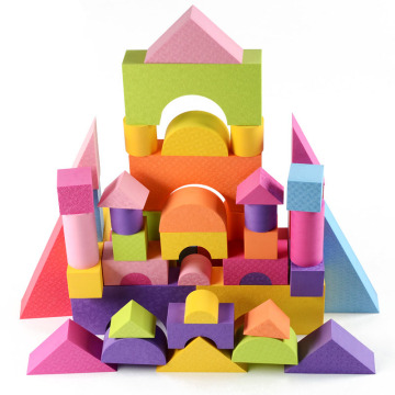OEM DIY Toy EVA education building blocks