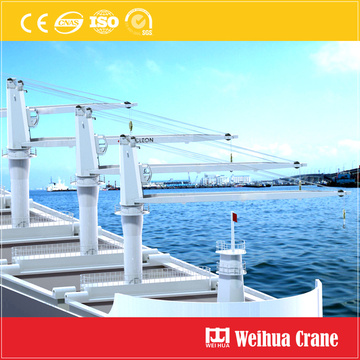 Slewing Deck Jib Crane