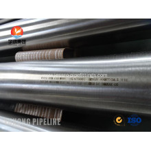 ASTM B163 / ASTM B515 Alloy Incoloy Pipe Incoloy 825 EN 2.4858 With Chemical Resistance