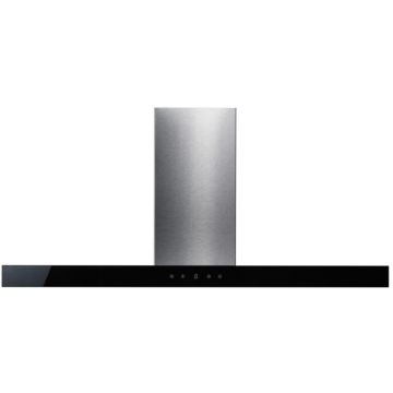 90cm Slimline Cooker Hood in Stainless Steel