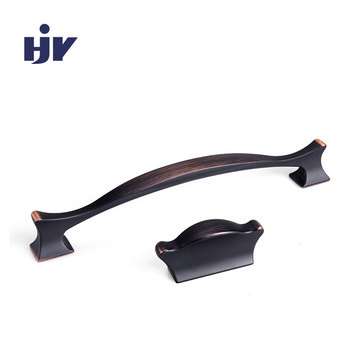 HJY classical style double hole handle in antioxidant finishing