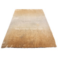Silk Shaggy Gradational Carpet Rug