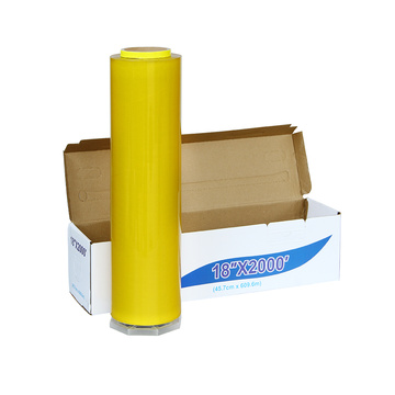 Food grade pvc plastic cling film roll