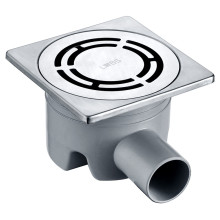 AIX (Square Exterior and Round Interior Floor Drain)