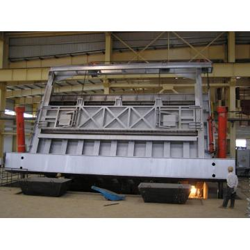 Aluminum Smelting Furnace and Billet Casting Machine Line