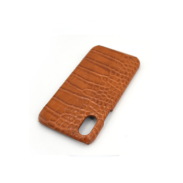 Super Luxury First Layer Crocodile Leather Phone Case