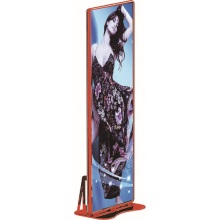 Outdoor led illuminated poster frame