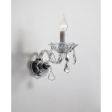 European Style Modern Bedroom Decorative Crystal Wall Lamp