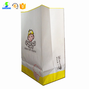 Take away snack food bag