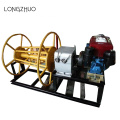 Small Portable Engine Powered Hoist Winch