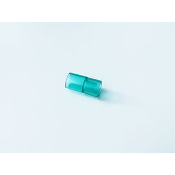 Disposable Medical plastic Straight Tube Connector Green