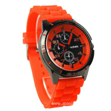 Fashion Silicone Sports Men's Women's Quartz Watch