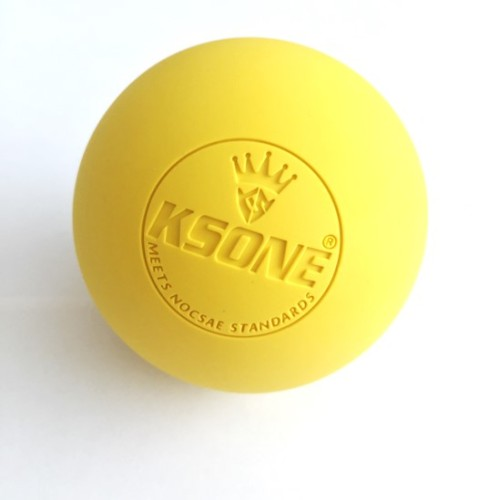 Chinese lacrosse ball meet CLA standard lacrosse rubber ball