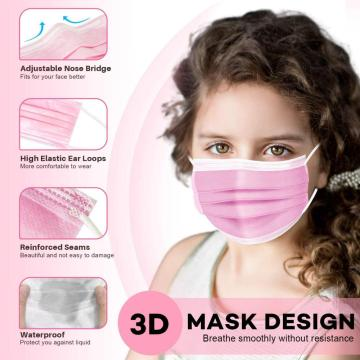 Disposable kids Masks for Face Anti Dust Pollen