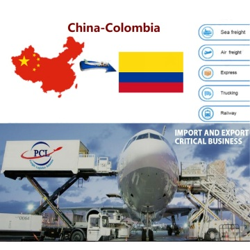 Honest and happy air freight shipping agent rates from Shenzhen to Colombia( BOG CLO MDE BAQ ) airport