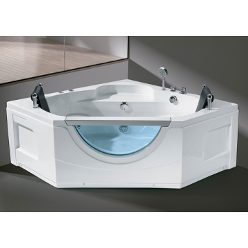 Rectangular Massage Bathtub Whirlpool Massage Jets