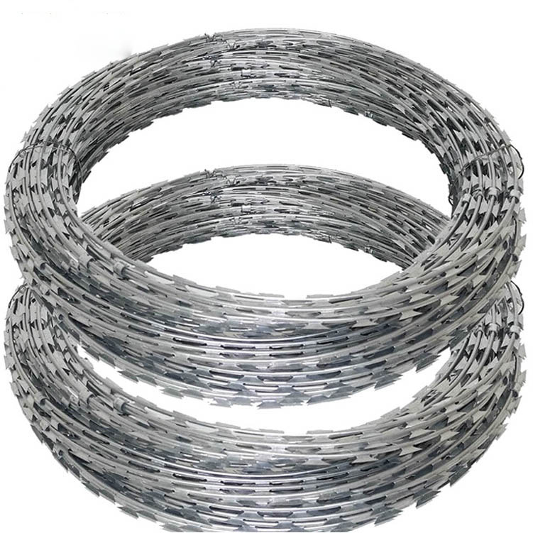 PVC Coated Razor Wire Fence With Low Price