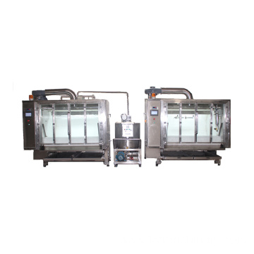 Belt Type Chocolate Candy Coating Machine Sugar Polishing Machine Coating Machine