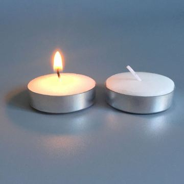 Daily Use Polybag Pack White Tealight Candle