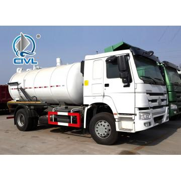 SINOTRUK 6M3 290hp Sewage Suction Truck