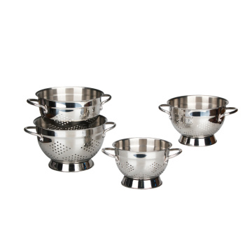 Stainless Steel Colander With Strong Handle
