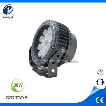 Exterior decoration 36W led flood lighting luminaires