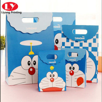 Doraemon tote cartoon gift bag for children