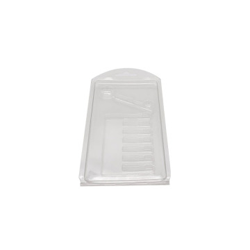 Clear tool empty clamshell blister pack