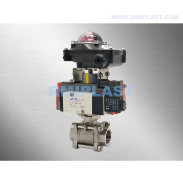 Pneumatic Ball Valve For Water Treatment Facility